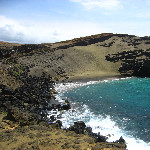 Green Sand Beach - South Point, Big Island