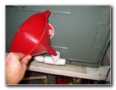 A C Air Handler Condensate Water Drain Pipe Unclogging