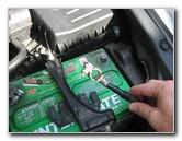 Honda Crosstour  Car Battery Change Instructions