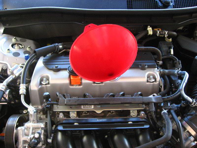 Change Engine Oil Filter Honda Accord