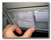 Honda Accord Overhead Map Light Bulbs Replacement Guide ...
