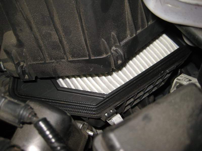 how to clean engine filter
