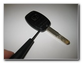honda cr  key fob battery replacement guide    model years picture illustrated