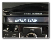 Honda Cr V Radio Serial Number Retrieval Amp Code Entry