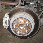 Honda CR-V Rear Disc Brake Pads Replacement Guide