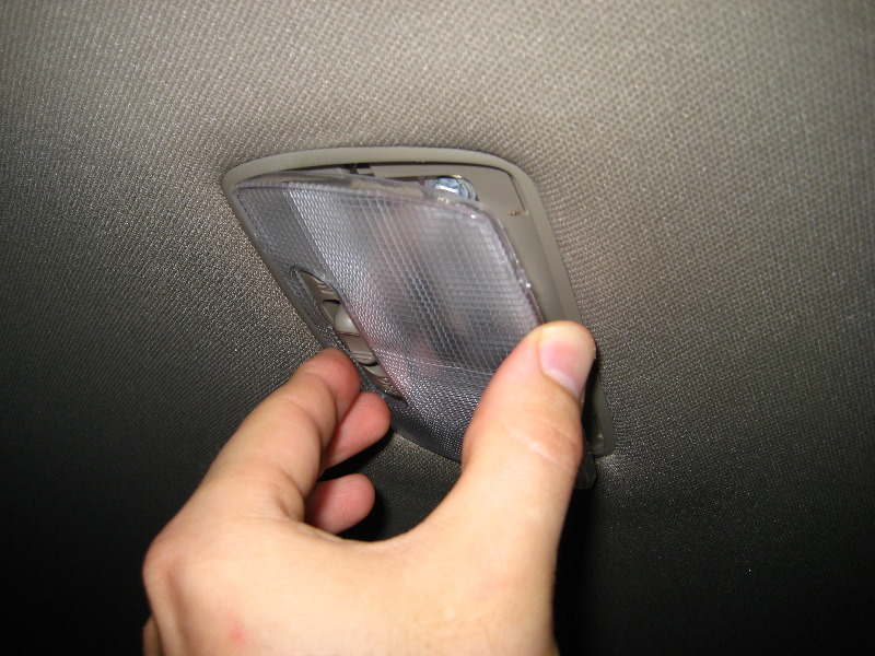 Replacing dome light on honda civic - Honda accord interior light bulb replacement ...