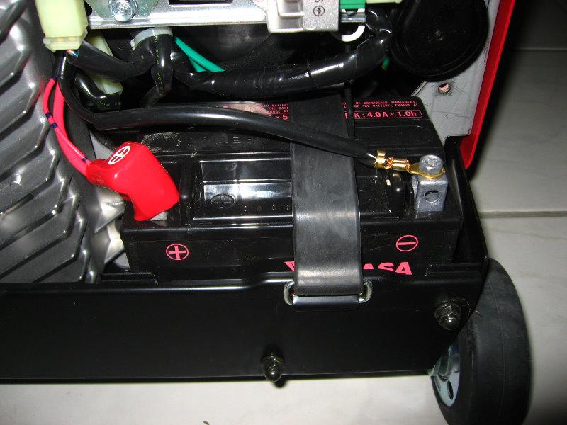 Taking A Car Battery Apart
