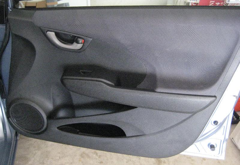 2010 Honda Fit Remove Driver Door Panel 2009 2010 2011