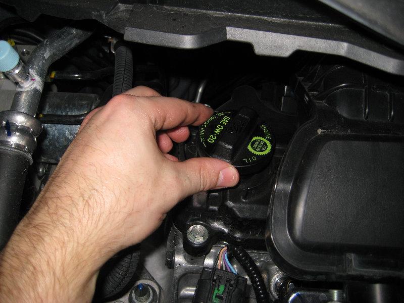 honda fit jazz l15a7 i vtec engine oil change guide 018
