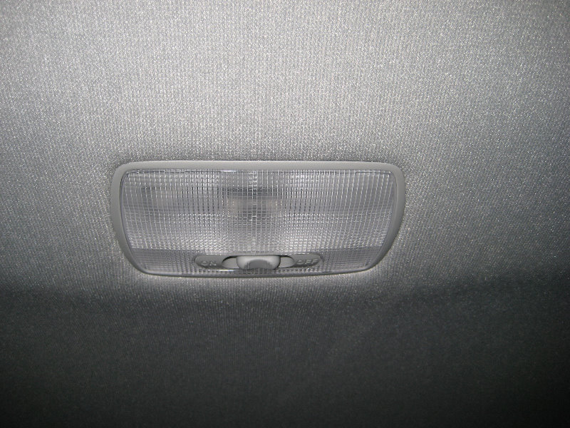 Honda fit jazz overhead dome light bulb replacement guide 001 - Honda accord interior light bulb replacement ...