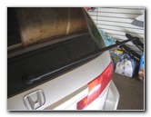 Honda Odyssey Rear Wiper Blade Replacement Guide Back