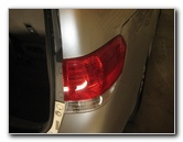 Honda Odyssey Tail Light Bulbs Replacement Guide 2006