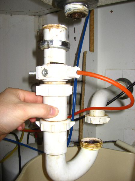fix a leaking sink drain kitchen sink drain leak repair guide