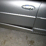Reattach Car Door Molding Trim