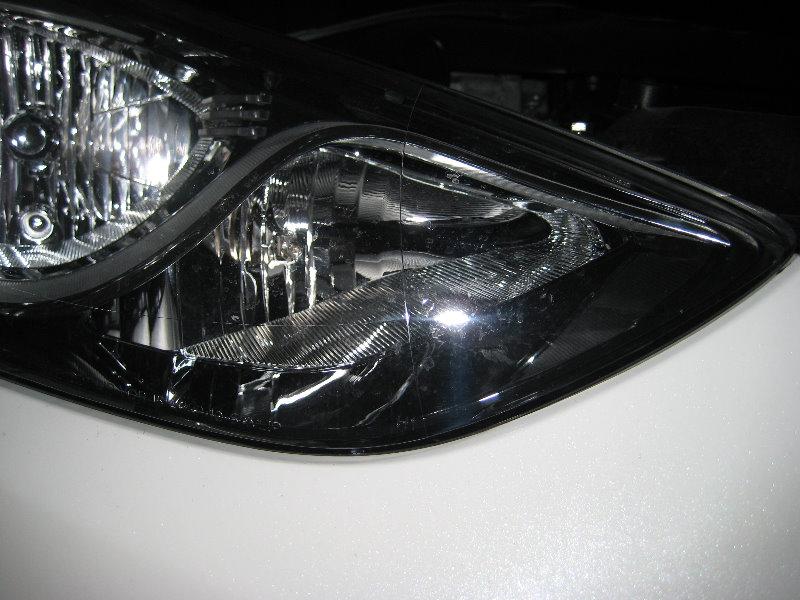Headlight Replacement Guide : Hyundai elantra headlight bulbs replacement guide low