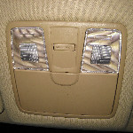 Hyundai Elantra Overhead Map Light Bulbs Replacement Guide