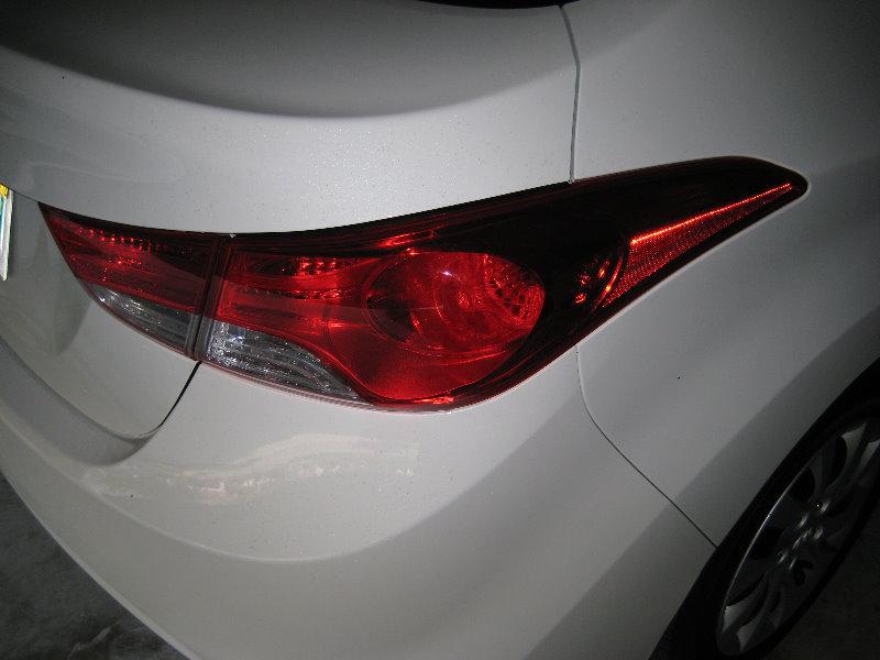 Hyundai Elantra Tail Light Bulbs Replacement Guide on Hyundai Elantra Light Bulbs