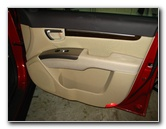 Hyundai Santa Fe Front Door Panel Removal Guide With Pictures 2007 To 2012 Model Years