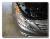 Hyundai Sonata Headlight Bulbs Replacement Guide