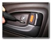 Hyundai Tucson Interior Door Panels Removal Guide 2010