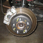 Hyundai Tucson Rear Disc Brake Pads Replacement Guide