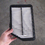 Hyundai Tucson Theta II 2.4L Engine Air Filter Replacement Guide