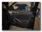 2012-2017 Hyundai Veloster Plastic Interior Door Panel Removal Guide