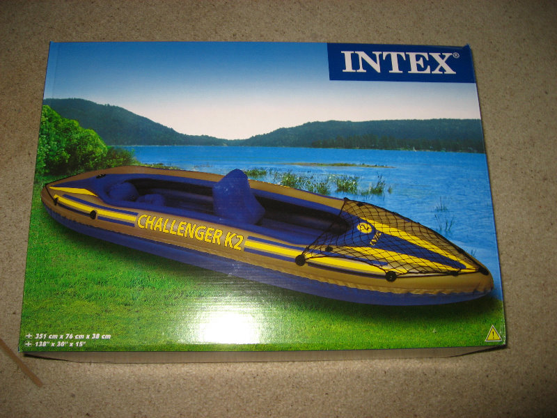 Intex Challenger K2 Inflatable Kayak Review 002