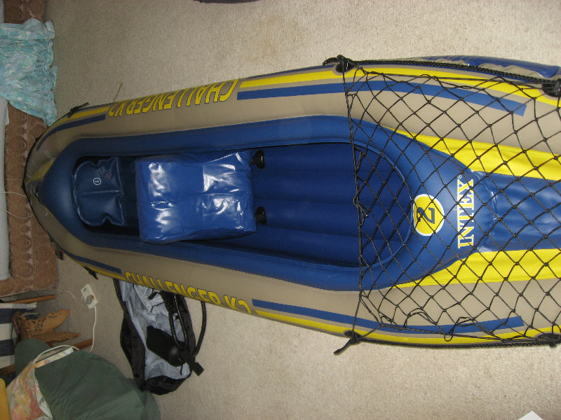 Intex Challenger K2 Inflatable Kayak Review 012