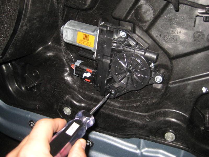 [Removing Inner Door Panel On A 2012 Jeep Wrangler ...