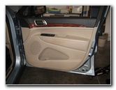 Jeep Grand Cherokee Interior Door Panel Removal Guide
