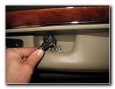 Jeep Grand Cherokee Interior Door Panel Removal Guide