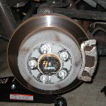 Jeep Liberty Rear Brake Pads Replacement Guide