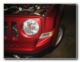 2007-2016 Jeep Patriot Headlight Bulbs Replacement Guide