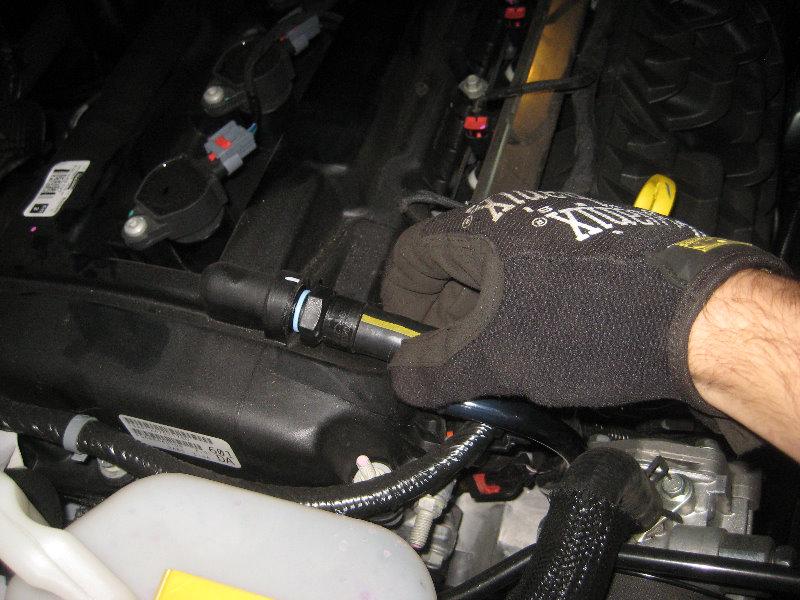 Jeep pcv valve replacement