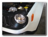 2015-2018 Jeep Renegade Headlight Bulbs Replacement Guide