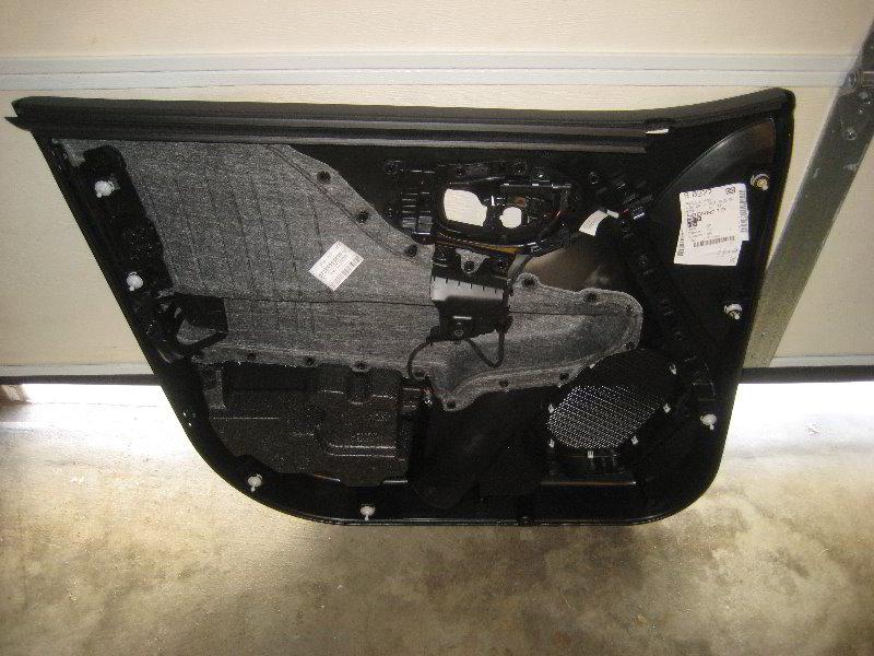 Jeep Renegade Interior Door Panel Removal Speaker