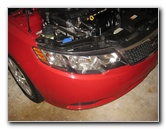 2010-2013 Kia Forte Headlight Bulbs Replacement Guide