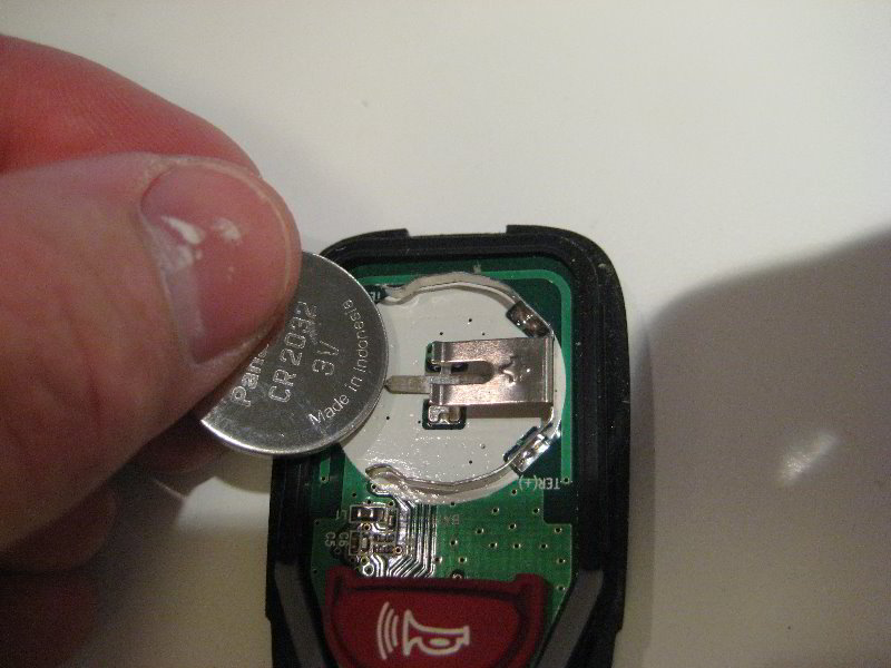how to change the battery on a fob