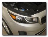 2015-2018 Kia Sedona Headlight Bulbs Replacement Guide