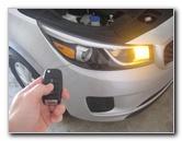 2015-2018 Kia Sedona Key Fob Battery Replacement Guide
