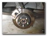 2015-2018 Kia Sedona Rear Disc Brake Pads Replacement Guide