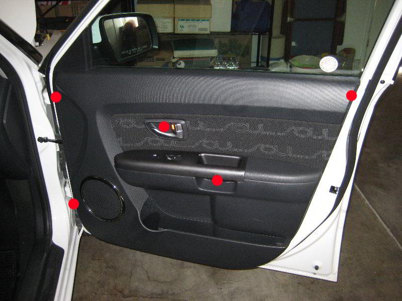 Kia Soul Interior Door Panel Removal Guide 001