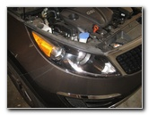 2011-2015 Kia Sportage Headlight Bulbs Replacement Guide