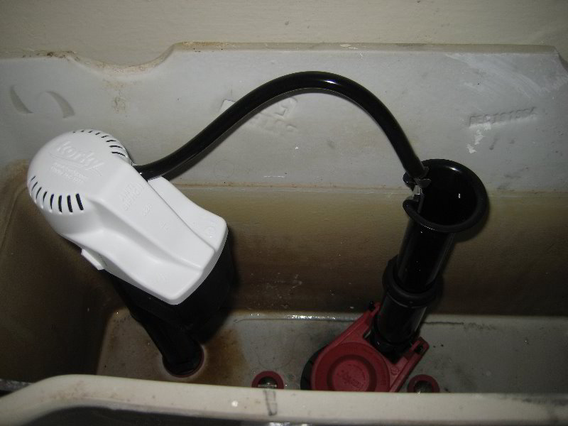 fluidmaster toilet repair kit instructions