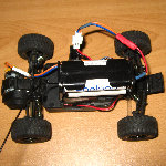 Losi Micro Desert Truck AAA Battery Pack Mod