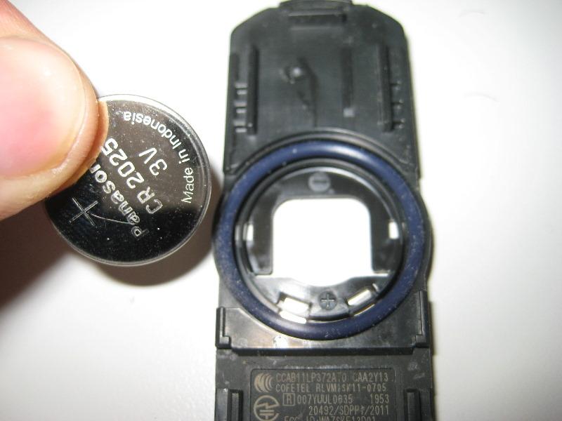 Toyota Car Key Battery Type