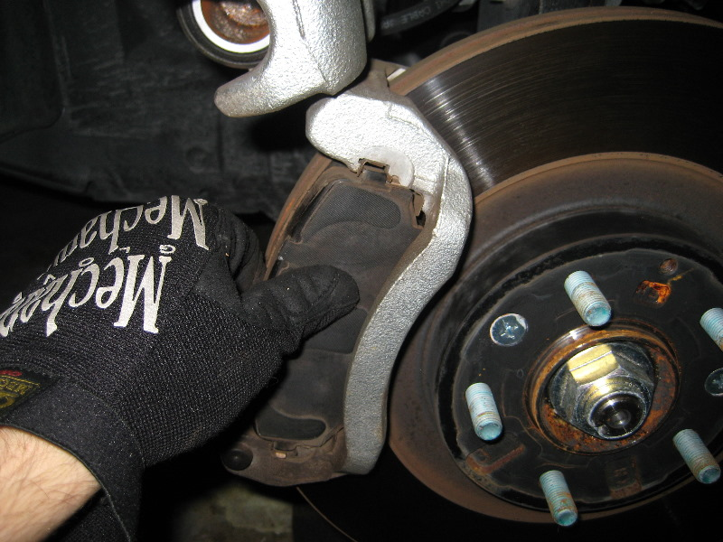 Brake Pad Replacement : Service manual how to replace front brakes on a