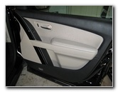 Mazda CX-9 Front Door Panel Removal Guide