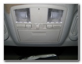 Mazda CX-9 Overhead Map Light Bulbs Replacement Guide